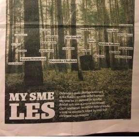 O My sme les a stave slovenských lesov píšu aj v Denníku N